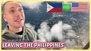 BYE PHILIPPINES! DADDY GOING BACK TO THE U.S.A