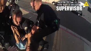 Suspect with Razor Blade vs Police
