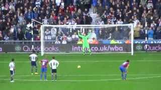 Video Gol Pertandingan West Bromwich Albion vs Crystal Palace
