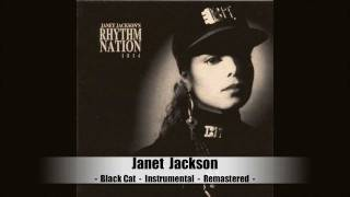 Janet Jackson Black Cat Instrumental Remastered
