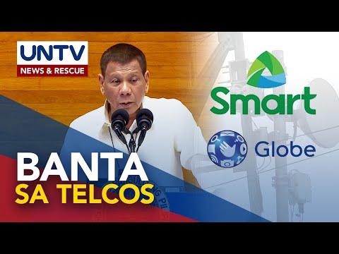 Telcos, nangako na aayusin ang serbisyo kasunod ng banta ng Pangulo na pagpapasara sa Disyembre