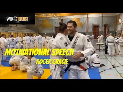 MOTIVATIONAL SPEECH - ROGER GRACIE On JIU JITSU (WAY VLOG #48) - Nikola Radin WAY (18.02.2020.)