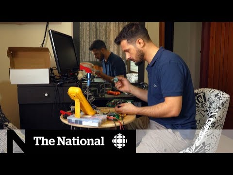 Syrian Refugee Lands His Dream Job In Niagara Falls