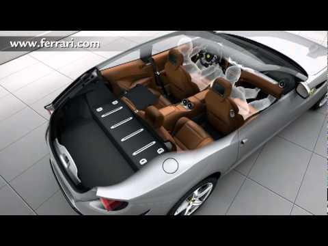 Attractive New Ferrari FF Interior Detail Versatility   New Carjam Car Radio Show 2012