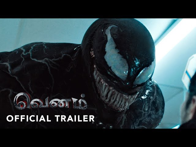 Sony music india venom-official tamil trailer  tom hardy  michelle williams