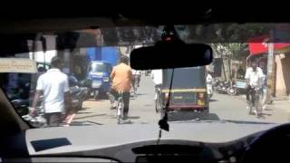 Full HD - Traffic in Belgaum (Karnataka, India)