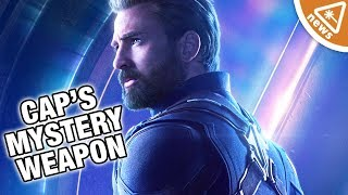 What Is Captain America's Mystery Weapon? (Nerdist News w/ Jessica Chobot)