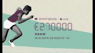 Live Draw of €270.000