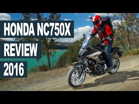 Honda NC750X 2016 Motorcycle Review