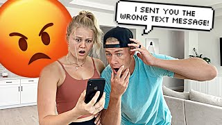 I SENT MY WIFE THE WRONG TEXT MESSAGE *PRANK*
