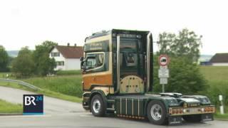 Trucker-Treffen im niederbayerischen Frontenhausen