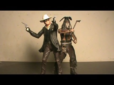 NECA The Lone Ranger And Tonto Figure Review