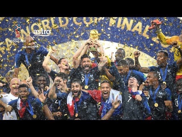 France 4 - 2 Croatia | 2018 FIFA World Cup | Astro SuperSport