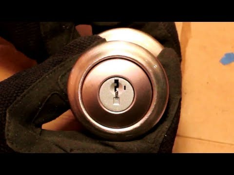 How To Flip A Kwikset Smartkey Door Knob With An Upside