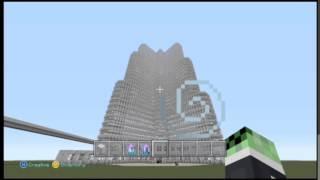 Minecraft Xbox Burj Khalifa Work In Progress