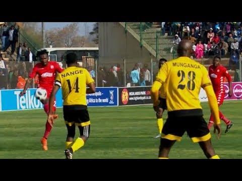 Luckyboy Mokoena spectacular volley vs Black Leopards | Absa Prem 2018/19