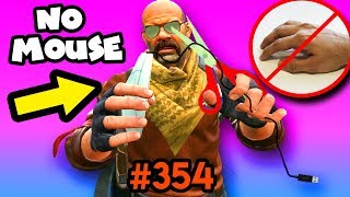 EPIC round WITHOUT MOUSE ! - CS:GO BEST ODDSHOTS #354