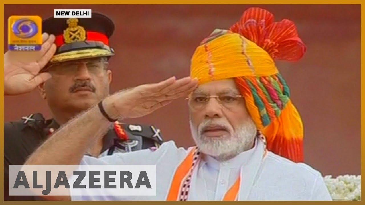 AlJazeera English:India celebrates independence day