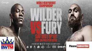 DEONTAY WILDER VS TYSON FURY LIVE AUDIO COMMENTARY no footage