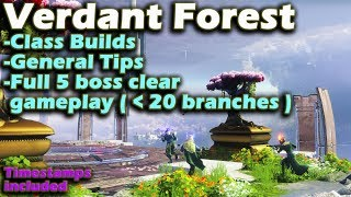 Destiny 2 The Revelry - Verdant Forest - Tips Builds Full 5 Boss Clear Gameplay