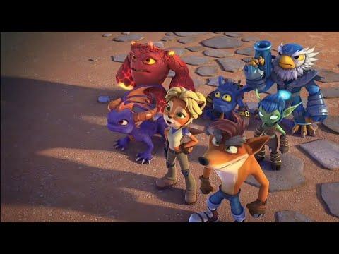 Crash And Coco Vs. Kaos - Skylanders Academy