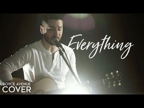 Lifehouse  Everything Boyce Avenue acoustic  on  & Apple