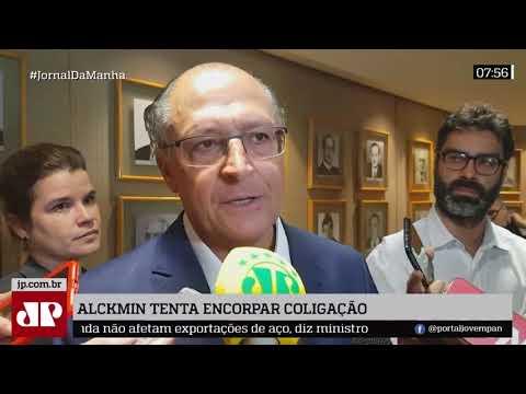 Alckmin Tenta Encorpar Coligação Para Disputar A Presidência