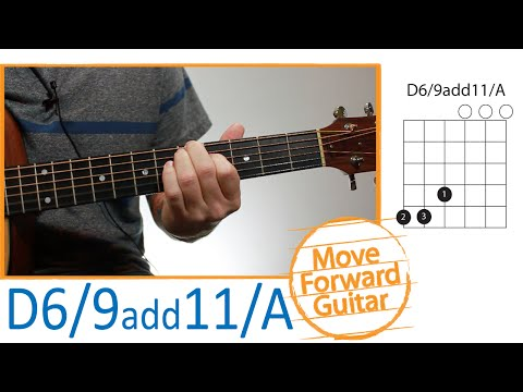 Guitar Chords for Beginners - D6/9 add11/A