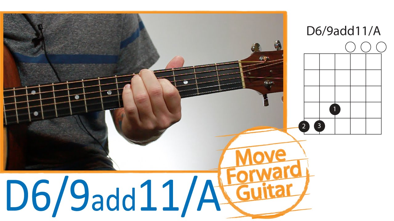 Guitar Chords For Beginners D69 Add11a Youtube