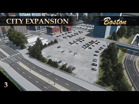 Boston Memorial Park and City Expansion! | Part 3 | Cities Skylines
