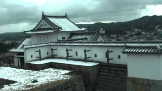 日本100名城巡り43 №67津山城 2011/12/26