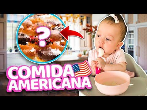 Comida Americana .