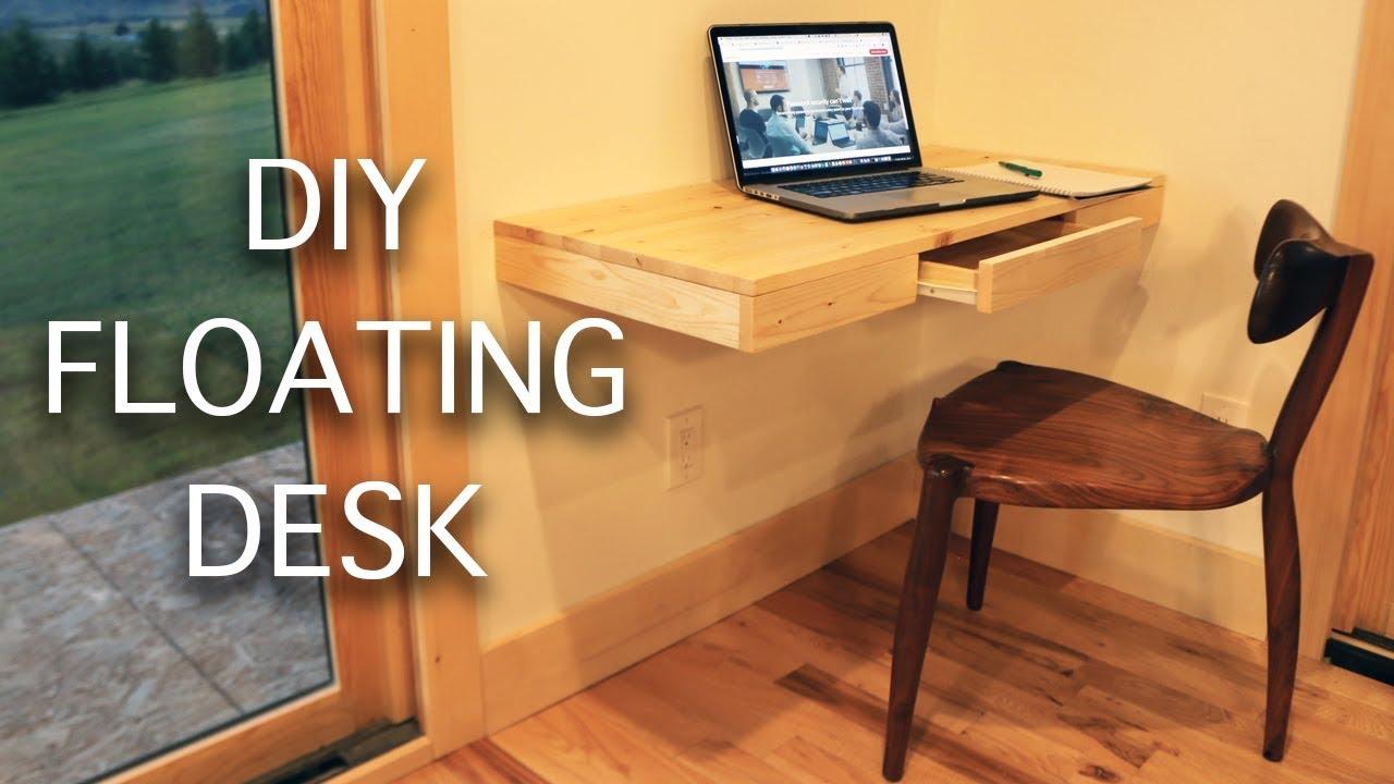 Simple Floating Desk