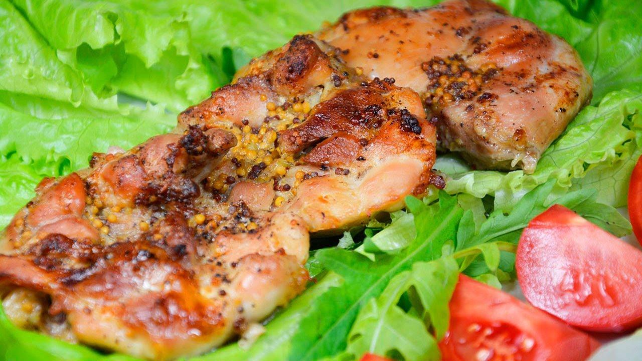 Как приготовить куриные бедрышки в духовке? Очень быстро, просто и вкусно. Приготовьте - Понравится!