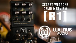 Walrus Audio R1 Stereo Reverb | Secret Weapons Demo & Review