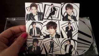 (Unboxing) Hey! Say! JUMP Ride with me limited type 1 & 2