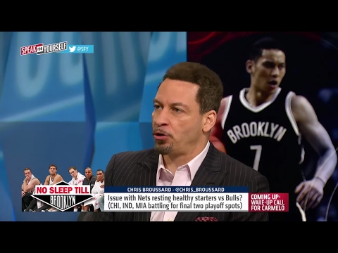 Brooklyn Nets are resting players in season finale - is this right? | SPEAK FOR YOURSELF