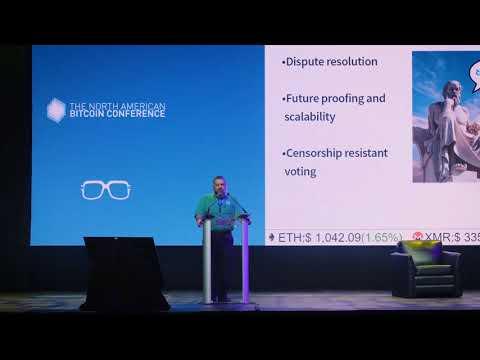 Marco Peereboom - Decred - The North American Bitcoin Conference 2018