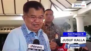 Euforia Nonton Bareng Debat Pilpres JK di Rumah Dinas - JPNN.COM