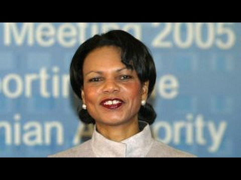 Condoleezza Rice on democracy vs. authoritarianism