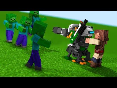 Minecraft. Ядерный апокалипсис. #1 (Заброшенный бункер