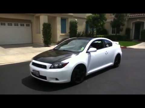 TRD SUPERCHARGER Scion tC 08 - YouTube
