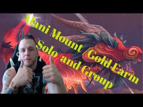 Alani Mount /Gold Farm Solo and Group