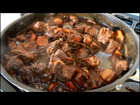 Jamaican Brown Stew Pork -From Chef Ricardo Cooking Best InThe World
