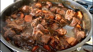 Jamaican Brown Stew Pork - Best Inthe World | Recipes By Chef Ricardo