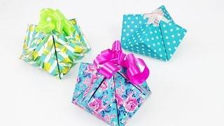 Süße Geschenkverpackung falten | einfache & schnelle Geschenk Box selber machen | DIY Idee