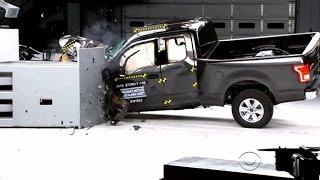 Ford F-150 only pickup to get good rating in crash tests