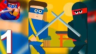 Mr Ninja - Slicey Puzzles - Gameplay Walkthrough Part 1 Chapter 1-3 (Android,iOS) screenshot 4