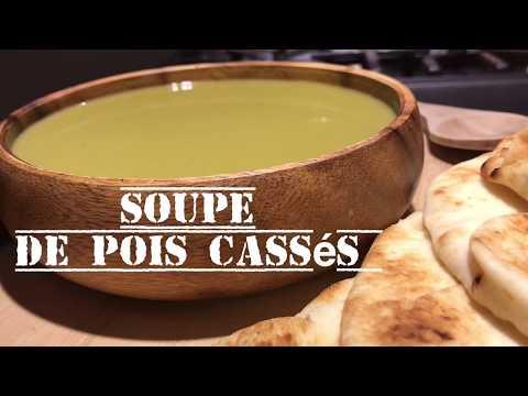 new---soupe-de-pois-cassés---green-split-peas-soup