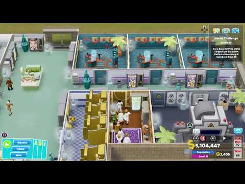 Two Point Hospital - Platinum (Gameplay, Tour, No Commentary)  